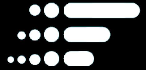 fan logo symbol white